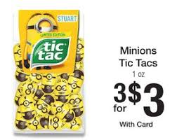 minion tic tacs only 1 00 each mylitter one deal at a time