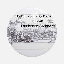 landscape architect ornament cafepress