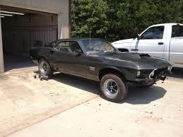 1969 Mustang Black 1969 Ford Mustang Boss 429 Black Jade First 100