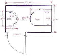size of toilet minimum bathroom dimensions with 14 bathroom installation minimum