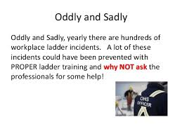 ladder safety learn fire person