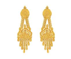 gold ear ring image buy orra chandbali gold earring for women online best earrings