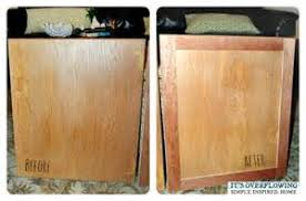 Refacing Kitchen Cabinets Yourself by How To Reface Cabinet Doors Yourself Bar Cabinet