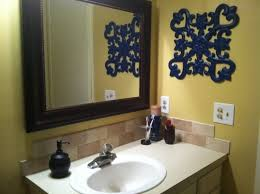 blue and yellow bathroom ideas cool blue and yellow bathroom ideas photos best inspiration home