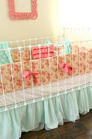 shabby chic crib bedding sweet jojo designs pink gray and white