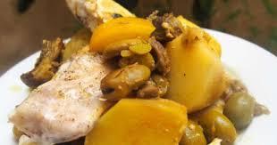 cuisiner le mulet tajine de mulet et de lotte aux artichauts violets fèves et