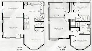 2 floor house plan 31 best reverse living house plans images on