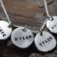 customizable necklaces buy a custom silver dainty disc necklace made to order from