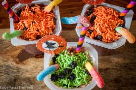 witches cauldron snack pack pudding cups love pasta and a tool