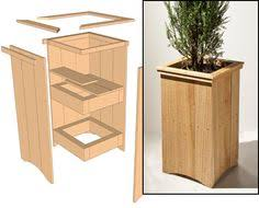 Wood Planter Box Plans Free by Cedar Planter Box Plans Cedar Planter Boxes Home Ideas