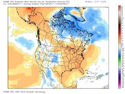 Weather Map North America by Ice Out Report