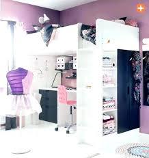 chambre ado fille avec lit mezzanine chambre fille avec lit mezzanine lit mezzanine wax idee deco chambre