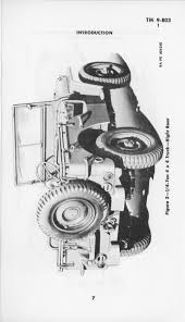 ww2 jeep drawing operator and maintenance manual for g503 willys mb u0026 ford gpw ww2
