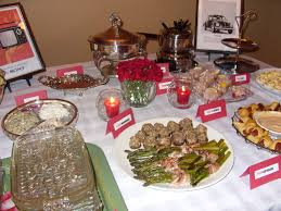 parties the party blog holiday dinner box table set up haammss