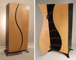 unique cabinet creative custom curved wooden bookcases dressers designs