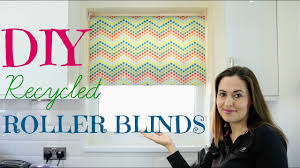 how to recycle roller blinds diy the carpenter u0027s daughter youtube