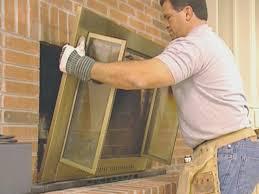 fireplace top fireplace door insulation nice home design