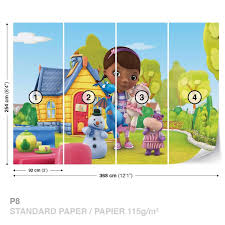 doc mcstuffins wrapping paper disney doc mcstuffins wall paper mural buy at europosters