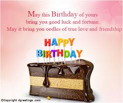 may this birthday of yours bring you luck happy birthday card