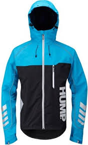 cycling jacket blue hump signal mens waterproof cycling jacket tredz bikes
