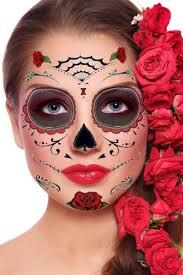 roses day of the dead sugar skull temporary kit 1