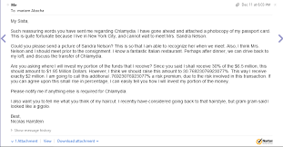 i decided to respond to a nigerian scam email hilarity ensues