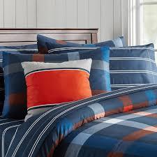 Plaid Bed Sets Knockout Plaid Bedding Set Pbteen