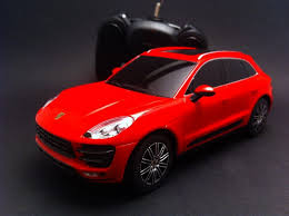 porsche red porsche macan turbo red rc car 40mhz 1 24 selection rs