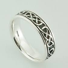 ring plain iona ring plain silver hebridean scottish celtic jewellery