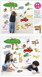 sk9084 cartoon animals and the english alphabet diy kids room sk9084 cartoon animals and the english alphabet diy kids room decorative wall sticker
