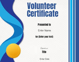 sample text for certificate of appreciation volunteer certificate of appreciation customize online then print