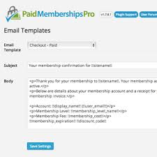 easily edit system generated email templates right from the