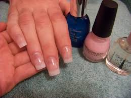 acrylic nails clear tips how you can do it at home pictures