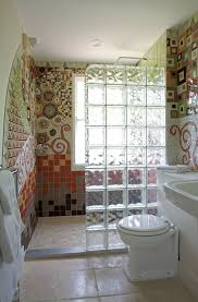 glass block designs for bathrooms privacy to your bathroom by installing glass blocks