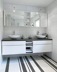 Bathroom Mosaic Design Ideas Interesting White Mosaic Floor Tile And More On Waterfall 3801