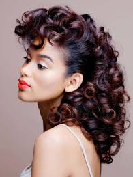 roller set relaxed hair the curly set curls understood