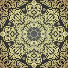 damask seamless with baroque ornaments stock image image 38720781