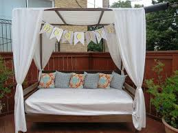 sale wicker outdoor daybed with canopy surripui net