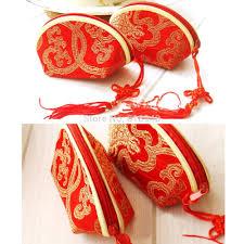 50 pcs traditional wedding box bag bridal