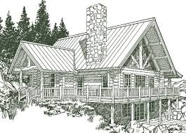 Log House Plans Manchester Log Home Plans