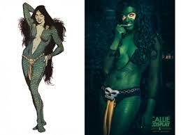 Gamora Costume Superheroine Costume History List Hubpages
