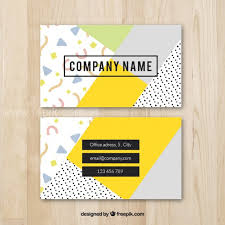 Business Card Backgrounds Free Download Vector Cool Colorful Business Card Template Free Download F4pik