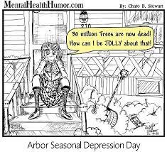 cartoons of christmas past u2013 oh christmas tree mental health humor