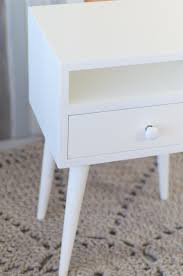 oak wood white nightstand no 03 ep white