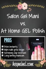 at home gel manicure vs salon gel mani hey mimi