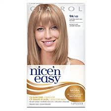 perm left to dry naturally on medium to long hair amazon com clairol nice n easy 9a 102 natural light ash blonde