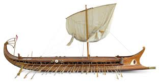 ancient greece boats ancient greek ship stock photo image 7682720