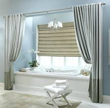 bathroom curtain ideas window curtains for bathroom budget blinds motorized shades