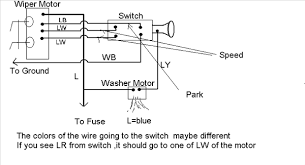 chevy wiper motor wiring diagram wiring diagram simonand