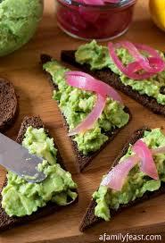 rye bread canapes avocado rye canapés